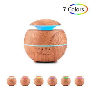 Wholesale fragrant oils resale online - 120ml Essential Oil Diffuser Ultrasonic Aroma Diffuser Color LED Light for Home Ultrasonic Aromatherapy Fragrant Oil Humidifier HWA3607