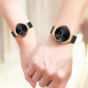 Wholesale dw couples watches for sale - Group buy Jitter Trend Dw Couple Tiktok Waterproof Quartz Crystal Watch