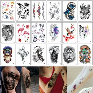 Wholesale body art painting men for sale - Group buy 14 x21cm TH Series Temporary Tattoo Stickers Body Art Painting Waterproof Decal Paper for Women and Men D Body Small Fairy Tattoos Designs