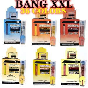 Wholesale flow battery resale online - E cigarettes Bang XXL Fast Ship Colors Package Disposable Vape Pen Kit Plus XL puff air bar Flow puffs ml Capacity Battery Vaporizer