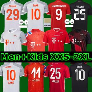 20 21 LEWANDOWSKI SANE soccer jersey HOME AWAY THIRD COMAN MULLER DAVIES football shirt Men Kids kit 2020 2021 HUMANRACE fourth 4th