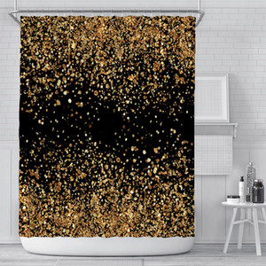 Wholesale curtains for sale - Group buy New curtain creative digital printing curtain waterproof polyester bathroom curtain sunshade shower curtains customization GWD5460