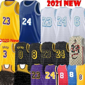 2021 Alex 4 Caruso Jersey Talen 5 Horton-Tucker Jersey Anthony 3 Davis Kyle 0 Kuzma Los Basketball Jerseys Angeles S-XXL