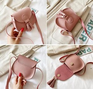 Wholesale toddler designer purse for sale - Group buy Baby Coin Purse Leather Kids Mini Cross Body Messenger Bag Tassel Toddler Shoulder Bags Tote Kids Accessories Colors DHE4807