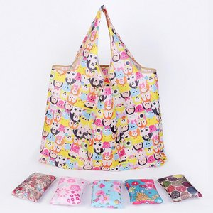 Wholesale totes for storage for sale - Group buy New Eco Friendly Tote Bags For Women Large Capacity Waterproof Foldable Shopping Bags Reusable Storage Bag Home Sundries Bag HWF5093