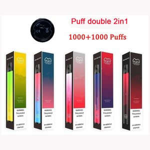 Wholesale portable pods for sale - Group buy Highest Puff Double in Disposable Vape Pen puffs mAh ml Prefilled in1 Pods Cartridges Vaporizer Portable Vapor e Cig Device