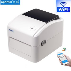 Wholesale printer s resale online - QR code transport label printer supports mm width and height printing speed mm s thermal label printer bar code printer