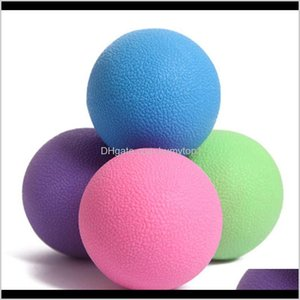 Wholesale lacrosse balls resale online - Fitness Acupoint Massage Lacrosse Ball Therapy Trigger Point Body Exercise Sports Yoga Ball Muscle Relax Relieve Fatigue Roller Zza969 Tqb5