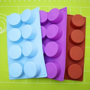Wholesale mini silicone moulds for sale - Group buy Silicone Pudding Mold Cake Pastry Baking Round Jelly Gummy Soap Mini Muffin Mousse Cake Decoration Tools Bread Biscuit Mould WWA145