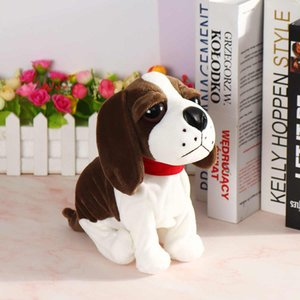 Wholesale baby standing toys resale online - Sound Control Electronic Dogs Interactive Electronic Pets Robot Dog Bark Stand Walk Electronic Toys Dog For Kids Baby Gift