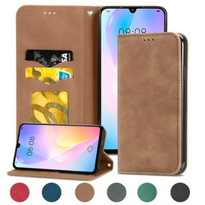 Wholesale case closure resale online - Skin comfortable feel pu leather magnetic closure cover phone case for Huawei Nova SE Samsung M21S F41 M31 and S21 Ultra