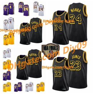 kobe 4  venda por atacado-Finals Black Mamba Los Angeles
