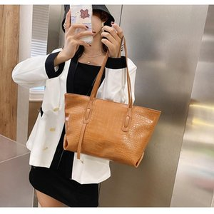 Wholesale models bags lady for sale - Group buy Foreign Trade Explosion Models Pure Color Trend European and American Shoulder Bag Ladies Portable Simple Bag