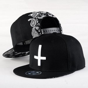 Wholesale cool snap cap for sale - Group buy 2021 New Brand Street Dance Cool Hip Hop Caps Embroidery Cross Snapback Snap Back Baseball Caps Hats Bone Hat