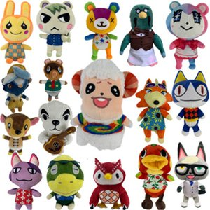 Wholesale cute birthday gifts friends for sale - Group buy Plush doll Animal Crossing cute comfort friends club pillow filling toy soft Holiday birthday present for gifts kids boys