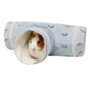 ingrosso maiali giocattoli-Chinchilla Guinea Pigs Tunnel Tubo Hedgehogs Dutch Rats Hamsters Drago barbuto Small Animal Animal Pet Bed Giocattolo