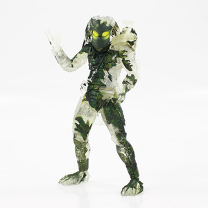 yabancılar vs yırtıcı figür toptan satış-20 cm NECA Yıldönümü Anime Predator Jungle Demon Heykelcik Yabancı VS Pedaor PVC Action Figure Tahsil Model Oyuncak Bebek C0220