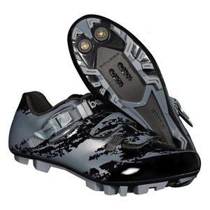 chuteiras spd ciclismo venda por atacado-Montanha das Mulheres Masculinas MTB Spin Cycling Shoes Fit Bolt Cleat Compatível com Cleaves do SPD Preto e Cinza