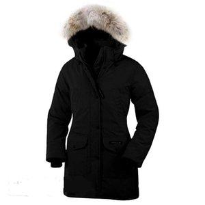 Fashion Women Designers Down Jacket Femme Belt Winter Women Dress Down Coat Real Raccoon Fur Coat Detachable Collar Hood Parkas Doudoune
