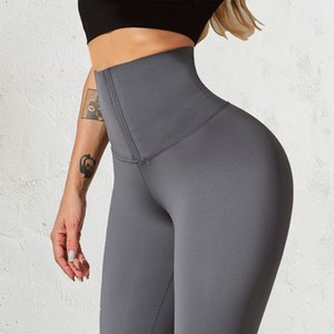 ingrosso spesse donne nude-Normov High Waist Yoga Pants Naked Feel Stretchy Fitness Sport Leggings Sport Gym Gym Leggings Push Up Donne Solid Thick sottile Q0126