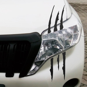 Wholesale claw stickers for sale - Group buy 37cm cm Funny Car Sticker Reflective Monster Scratch Stripe Claw Marks Car Auto Headlight Decoration Decal Car Stickers