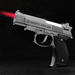 Adjustable Gun Lighter Jet Flame Torch Lighter for Kitchen Refillable Micro Culinary Windproof Lighter for Smoking