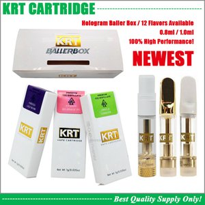 Wholesale vape master for sale - Group buy Real Hologram KRT Vape Cartridge Newest Box ML ML Pyrex Glass Tank Ceramic Coil Battery Cart Cookies Master Chief