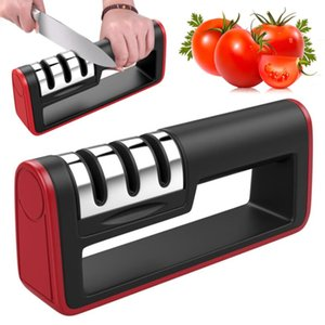 ingrosso articoli da cucina-Coltelli multifunzione Affilatrice ACCIAIO INOX ACCIAIO INOSSIDABILE Cucina professionale Affilatrice Sharp per coltello Sharpen Tools Cucina Accessorie