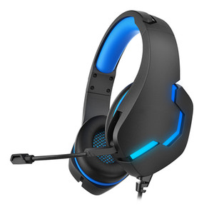 headsets gamer venda por atacado-J10 Gaming Headset Gamer Stereo Profundo LED Gaming Headphones para PC Portátil Notebook Computador PS4 com Microfone