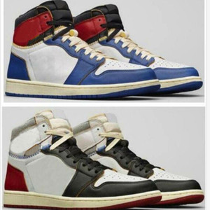 Wholesale storm basketball resale online - Union x High OG NRG LA Los Angeles Blue Toe Varsity Red Storm S Basketball Shoes Man Sneakers
