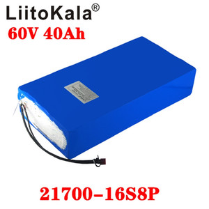 Wholesale 60v 40ah battery for sale - Group buy LiitoKala V ah electric scooter bateria V AH Electric Bicycle Lithium Battery Scooter V W ebike battery