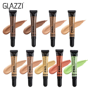 Wholesale full cover foundation for sale - Group buy GLAZZI Colors Concealer Acne Contour Palette Makeup Contouring Foundation Waterproof Full Cover Dark Circles Cream