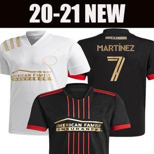 MARTINEZ 20 21 Atlanta United home black away white soccer jerseys HOME GARZA JONES VILLALBA ALMIRON 2020 2021 Atlanta football shirts