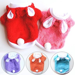 Wholesale sweets products resale online - Warm Cute Cat Dog Clothes Easter Animals Suit Clothing Windproof Pet Product Warm Cat Puppy Clothes