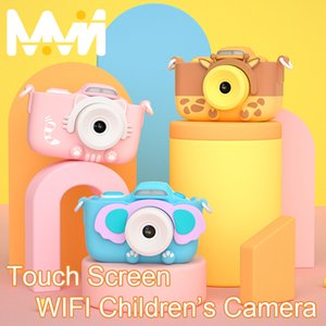 Wholesale wi remote resale online - Children s Camera K Digital Camera inch Touch Screen Camera WI FI Toys For Girl children Gift MP Kids