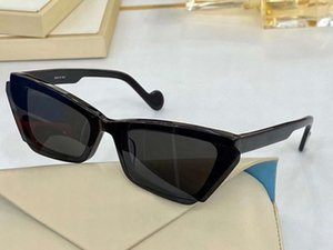 Wholesale story sunglasses resale online - Women Fashion Cat Eye Story Sunglasses Black Gray Lens mm occhiali da sole firmati UV400 Protection with box
