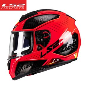 Wholesale built helmets for sale - Group buy LS2 FF397 Fiber Glass Full Face Motorcycle Helmet Double Shield Lens Built in Bluetooth Slot Racing Moto Casque Moto Capacete