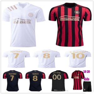 Wholesale custom kids shirts for sale - Group buy Adult Kids New MLS Atlanta United Football Jersey G MARTINEZ MARTINEZ Custom Atlanta United FC Home Away Red White Soccer Shirt