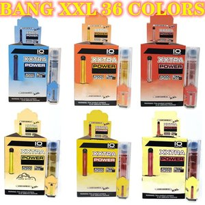 Wholesale flow battery resale online - cigarettes Bang XL Colors Package Disposable Vape Pen Kit Plus XXL Flow puffs ml Capacity Battery Vaporizer Fast Ship