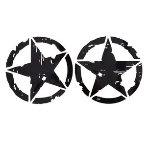 Wholesale stars car decals resale online - 1Pc Colors cm cm ARMY Star Graphic Decals Motorcycle Car Stickers Vinyl Car styling