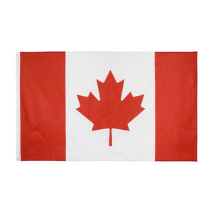 Wholesale italy flags for sale - Group buy 1 Canada Flag cm FT Big Hanging Italy National Country Flag Canadian Banner Used For Festival Home Decoration V2