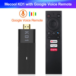 boîte dongle achat en gros de-news_sitemap_homeMECOOL KD1 TV Stick Stick Amlogic S905Y2 TV Boîte AndroidTV GB GB Support Google Certified Voice K G G WIFI BT TV Dongle