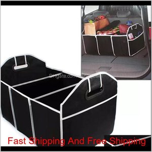 Wholesale car interior toys for sale - Group buy Foldable Car Storage Boxs Bins Trunk Organizer Toys Food Stuff Storage Container Bags Auto Interior Accessories Case Can Fba Ship Qlix Znhcp