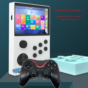 sistema de juego android al por mayor-New Retroid Pocket Retro Game Console Bluetooth Soporte Android System Pandora Box Dual System Handheld Game Console