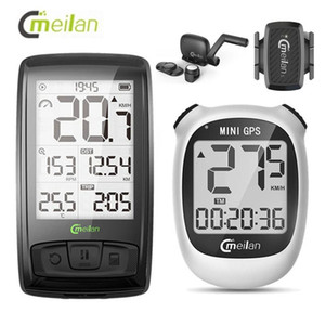 Wholesale speed odometer for sale - Group buy Meilan Bike Computer Wireless Bluetooth Odometer Cycling Computer Speed Cadence Sensor Heart Rate Monitor Bike Accessories