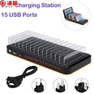 cadernos inteligentes venda por atacado-Carregador USB do desktop Multi portas Stand Docking a Inteligente Estações de Carregamento para Notebook Tablet Telefone Inteligente W