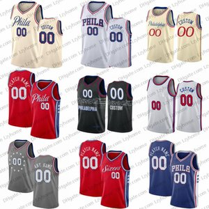 Wholesale dwight howard for sale - Group buy Custom Joel Embiid Basketball Jerseys Ben Simmons Tobias Harris Tyrese Maxey Shake Milton er Sixers City Dwight Howard Paul Reed Jersey