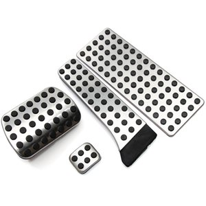 Wholesale mercedes benz pedals resale online - Stainless steel pedal AT for Mercedes Benz C E S GLK SLK CLS SL Class W203 W204 W211 W212W210 AMG accelerator brake footrest pad