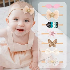 styles de cheveux enfant achat en gros de-news_sitemap_homeBaby filles Bow Bargette à cheveux Style Lychee Bow Bur Band Band Enfant Toddler Heart Star Élastique Bandeau Elastic Kids Headwear U2
