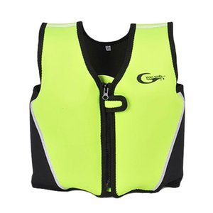 Wholesale child float vest for sale - Group buy Kids Life Jacket Floating Vest Children Boy Swimsuit Sunscreen Floating Power swimming pool accessories ring Drifting Boating